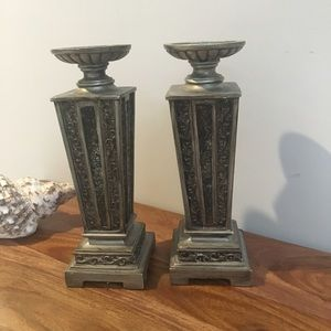 Candle holders set of 2.